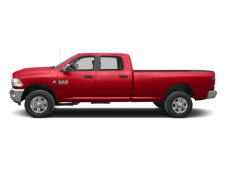 Flame Red 2013 Ram Truck 3500 Pictures 3500 Crew Cab SLT 4WD photos side view