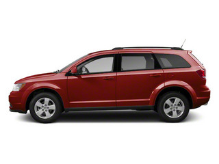 Bright Red 2013 Dodge Journey Pictures Journey Utility 4D Crew AWD photos side view