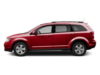 Brilliant Red Tri-coat Pearl 2013 Dodge Journey Pictures Journey Utility 4D SXT AWD photos side view