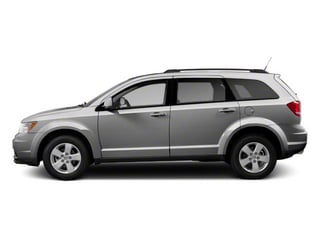 Bright Silver Metallic 2013 Dodge Journey Pictures Journey Utility 4D SXT AWD photos side view