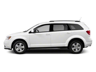 White 2013 Dodge Journey Pictures Journey Utility 4D SXT AWD photos side view