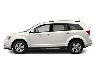 Pearl White Tri-coat 2013 Dodge Journey Pictures Journey Utility 4D Crew AWD photos side view