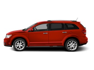 Bright Red 2013 Dodge Journey Pictures Journey Utility 4D R/T AWD photos side view