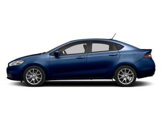 True Blue Pearl 2013 Dodge Dart Pictures Dart Sedan 4D Aero I4 Turbo photos side view