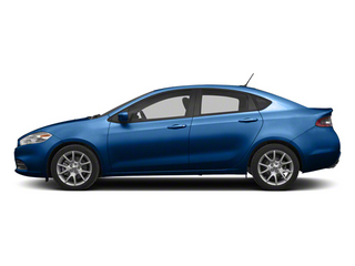 Blue Streak Pearl 2013 Dodge Dart Pictures Dart Sedan 4D Aero I4 Turbo photos side view
