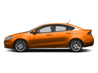 Header Orange 2013 Dodge Dart Pictures Dart Sedan 4D GT I4 photos side view