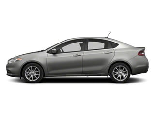 Bright Silver Metallic 2013 Dodge Dart Pictures Dart Sedan 4D Aero I4 Turbo photos side view