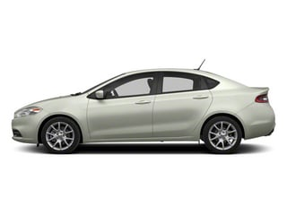 Bright White 2013 Dodge Dart Pictures Dart Sedan 4D Aero I4 Turbo photos side view