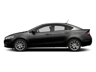 Pitch Black 2013 Dodge Dart Pictures Dart Sedan 4D Aero I4 Turbo photos side view