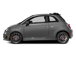 Grigio (Gray) 2013 FIAT 500 Pictures 500 Convertible 2D Abarth I4 photos side view