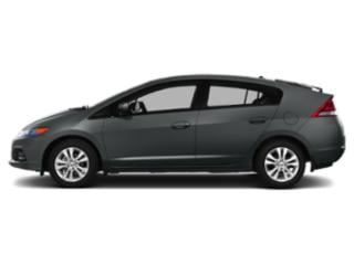 Polished Metal Metallic 2013 Honda Insight Pictures Insight Hatchback 5D EX I4 photos side view