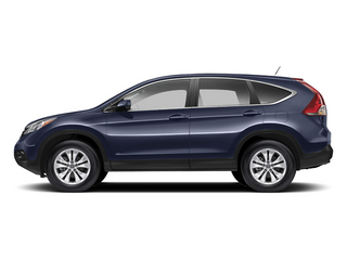 Twilight Blue Metallic 2013 Honda CR-V Pictures CR-V Utility 4D EX-L 4WD I4 photos side view