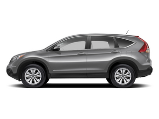 Alabaster Silver Metallic 2013 Honda CR-V Pictures CR-V Utility 4D EX-L 4WD I4 photos side view