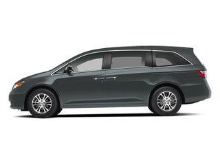 Polished Metal Metallic 2013 Honda Odyssey Pictures Odyssey Wagon 5D EX-L V6 photos side view