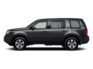 Crystal Black Pearl 2013 Honda Pilot Pictures Pilot Utility 4D EX-L DVD 4WD V6 photos side view