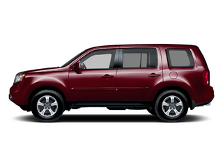 Dark Cherry Pearl II 2013 Honda Pilot Pictures Pilot Utility 4D EX-L DVD 4WD V6 photos side view