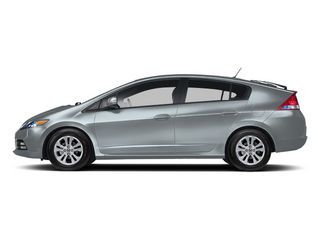 Frosted Silver Metallic 2013 Honda Insight Pictures Insight Hatchback 5D EX I4 photos side view