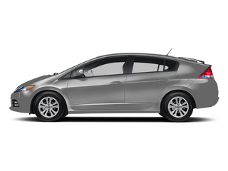 Alabaster Silver Metallic 2013 Honda Insight Pictures Insight Hatchback 5D EX I4 photos side view