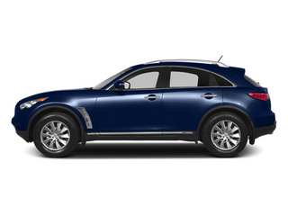 Iridium Blue 2013 INFINITI FX50 Pictures FX50 Utility 4D FX50 AWD V8 photos side view