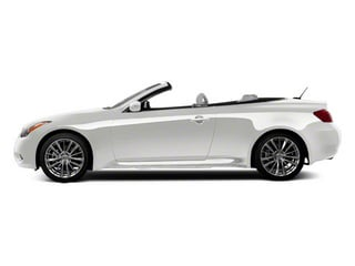 Moonlight White 2013 INFINITI G37 Convertible Pictures G37 Convertible Convertible 2D 6 Spd V6 photos side view