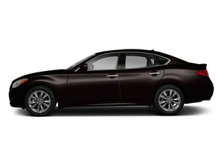 Malbec Black 2013 INFINITI M56 Pictures M56 Sedan 4D x AWD V8 photos side view