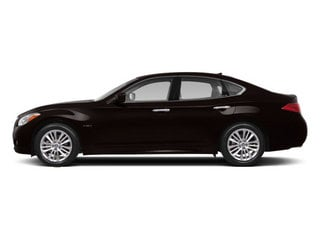 Malbec Black 2013 INFINITI M35h Pictures M35h Sedan 4D V6 Hybrid photos side view