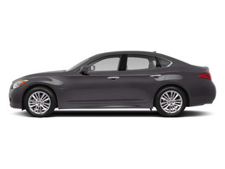 Platinum Graphite 2013 INFINITI M35h Pictures M35h Sedan 4D V6 Hybrid photos side view