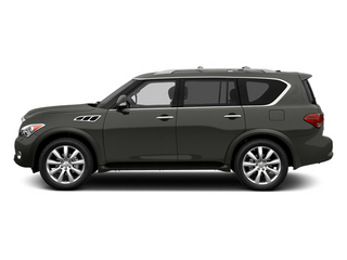 Platinum Graphite 2013 INFINITI QX56 Pictures QX56 Utility 4D 4WD photos side view
