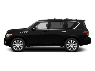 Black Obsidian 2013 INFINITI QX56 Pictures QX56 Utility 4D 2WD photos side view