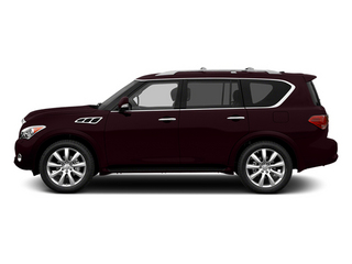 Dark Currant 2013 INFINITI QX56 Pictures QX56 Utility 4D 4WD photos side view