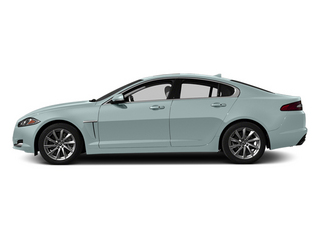 Crystal Blue Metallic 2013 Jaguar XF Pictures XF Sedan 4D Portfolio AWD V6 Supercharg photos side view