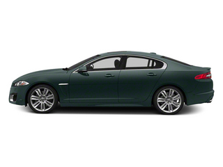 British Racing Green 2013 Jaguar XF Pictures XF Sedan 4D XFR Supercharged Speed photos side view