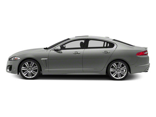 Rhodium Silver Metallic 2013 Jaguar XF Pictures XF Sedan 4D XFR Supercharged Speed photos side view