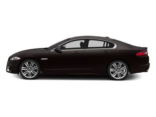 Ultimate Black Metallic 2013 Jaguar XF Pictures XF Sedan 4D XFR-S V8 Supercharged photos side view