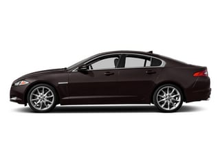 Ultimate Black Metallic 2013 Jaguar XF Pictures XF Sedan 4D V8 Supercharged photos side view