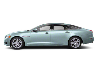 Crystal Blue 2013 Jaguar XJ Pictures XJ Sedan 4D AWD V6 photos side view