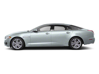 Rhodium Silver 2013 Jaguar XJ Pictures XJ Sedan 4D AWD V6 photos side view