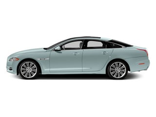 Crystal Blue 2013 Jaguar XJ Pictures XJ Sedan 4D Speed V8 Supercharged photos side view