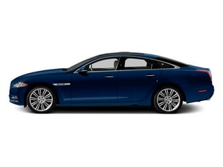 Indigo Blue 2013 Jaguar XJ Pictures XJ Sedan 4D Speed V8 Supercharged photos side view