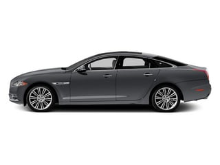 Lunar Grey 2013 Jaguar XJ Pictures XJ Sedan 4D Speed V8 Supercharged photos side view