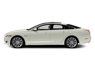 Polaris White 2013 Jaguar XJ Pictures XJ Sedan 4D Speed V8 Supercharged photos side view