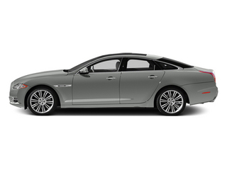 Rhodium Silver 2013 Jaguar XJ Pictures XJ Sedan 4D Speed V8 Supercharged photos side view