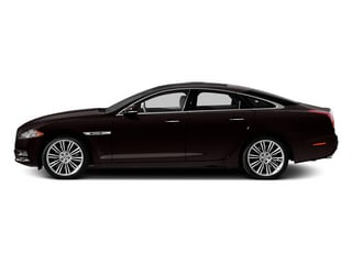 Ultimate Black 2013 Jaguar XJ Pictures XJ Sedan 4D Speed V8 Supercharged photos side view