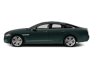 British Racing Green 2013 Jaguar XJ Pictures XJ Sedan 4D L Supersport Speed V8 photos side view