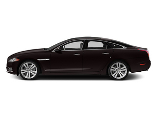 Ultimate Black 2013 Jaguar XJ Pictures XJ Sedan 4D L Supersport Speed V8 photos side view