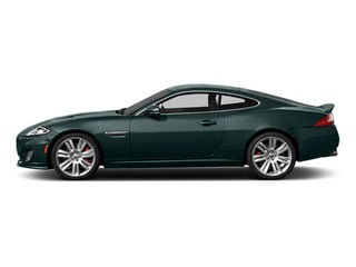 British Racing Green 2013 Jaguar XK Pictures XK Coupe 2D XKR Supercharged photos side view
