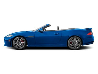 French Racing Blue 2013 Jaguar XK Pictures XK Convertible XKR-S Supercharged photos side view