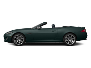 British Racing Green 2013 Jaguar XK Pictures XK Convertible XKR Supercharged photos side view