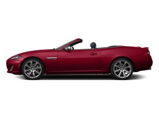 Carnelian Red Metallic 2013 Jaguar XK Pictures XK Convertible XKR Supercharged photos side view