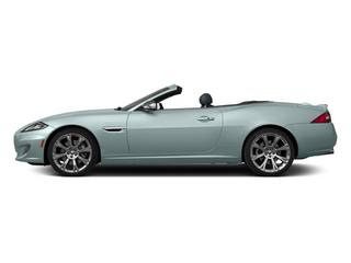 Crystal Blue Metallic 2013 Jaguar XK Pictures XK Convertible XKR Supercharged photos side view